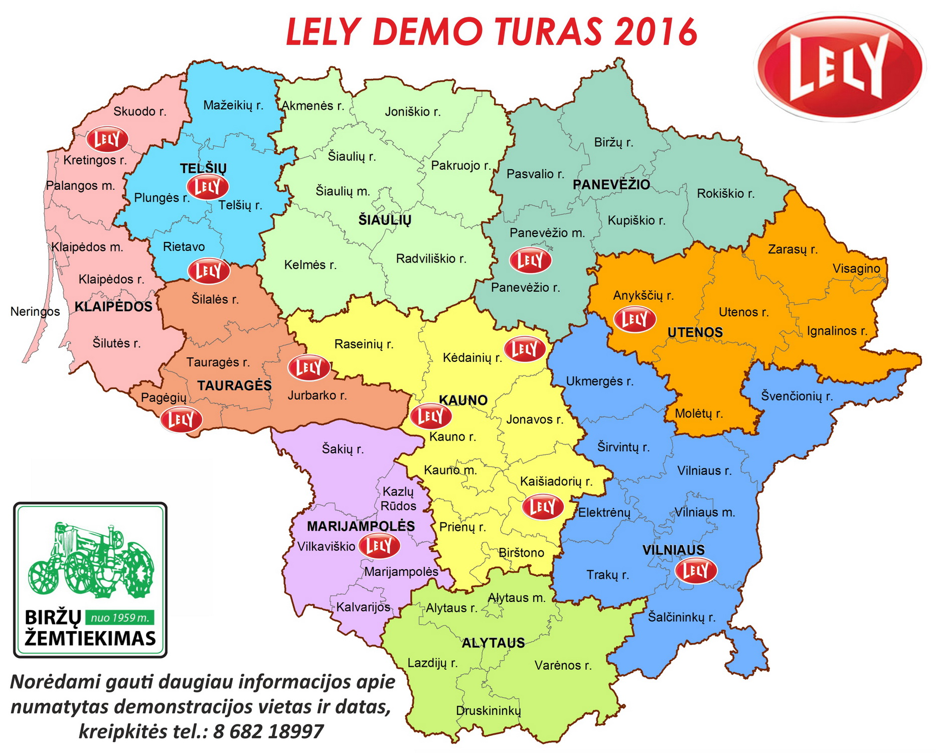 LELY DEMO TURAS 2016