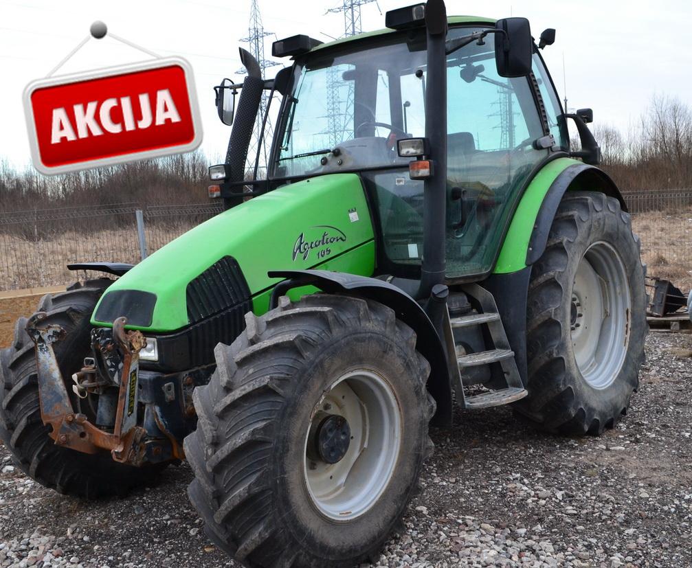Traktorius Deutz-Fahr Agrotron 105 MKIII