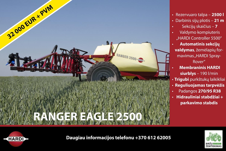 Purkštuvas Ranger Eagle 2500