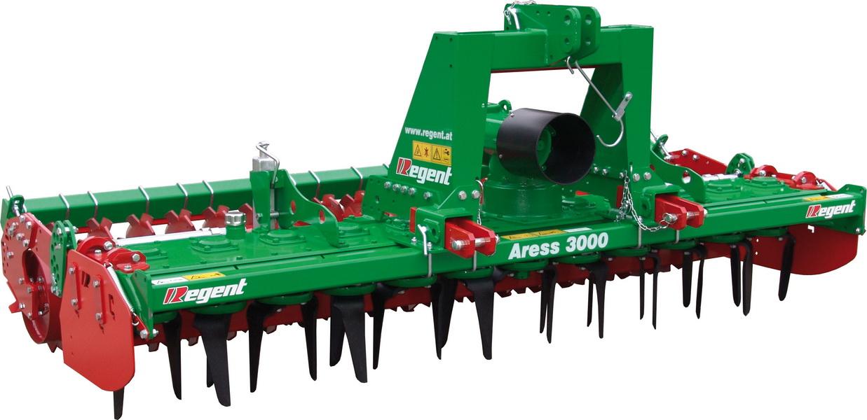 Regent Aress ir KSE vertikalių rotorių kultivatoriai