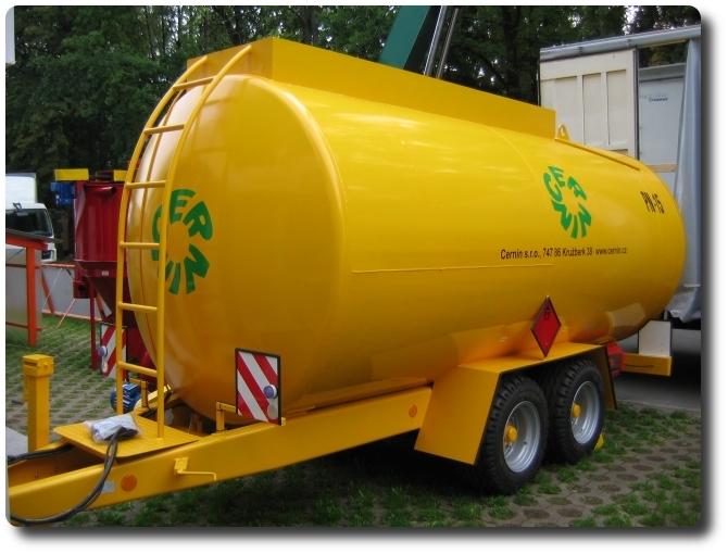 Mobilios kuro cisternos Cernin