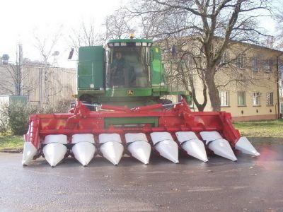 Kukurūzų pjaunamosios Linamar