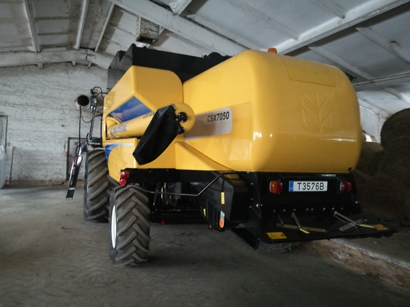 Kombainas New Holland CSX7050