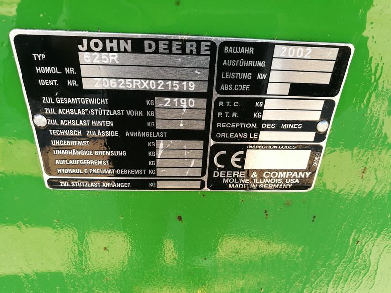 John Deere 9640WTS