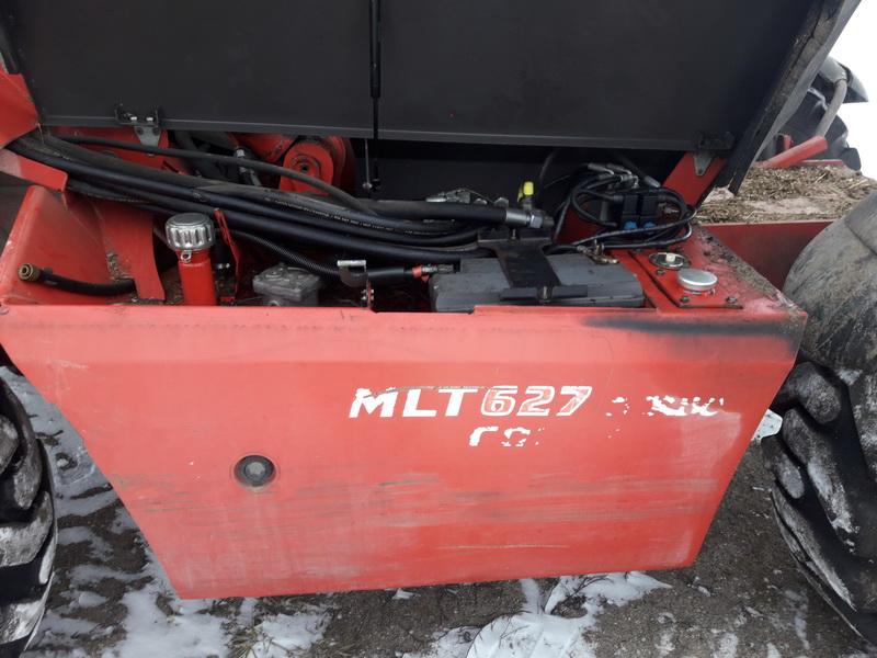 Traktorius Manitou 627 T