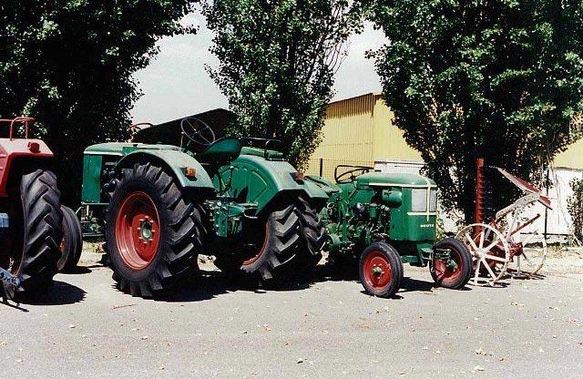 Deutz-Fahr - seniausias Europoje traktorių gamintojas