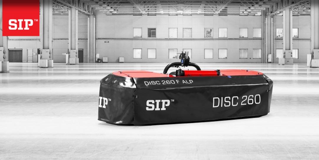 Priekinės diskinės šienapjovės SIP DISC ALP