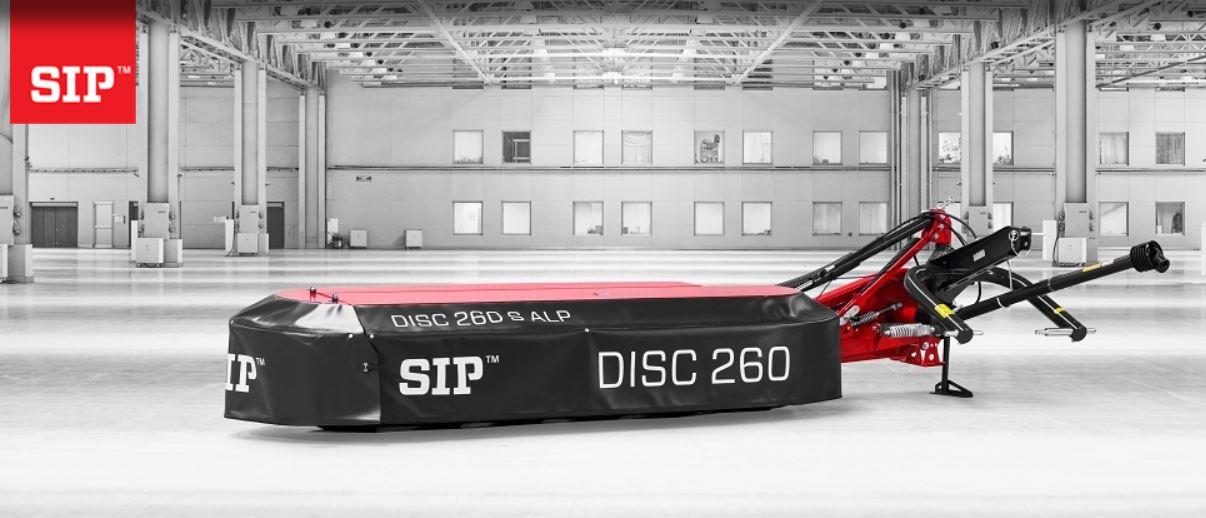 Šoninės diskinės šienapjovės SIP DISC ALP