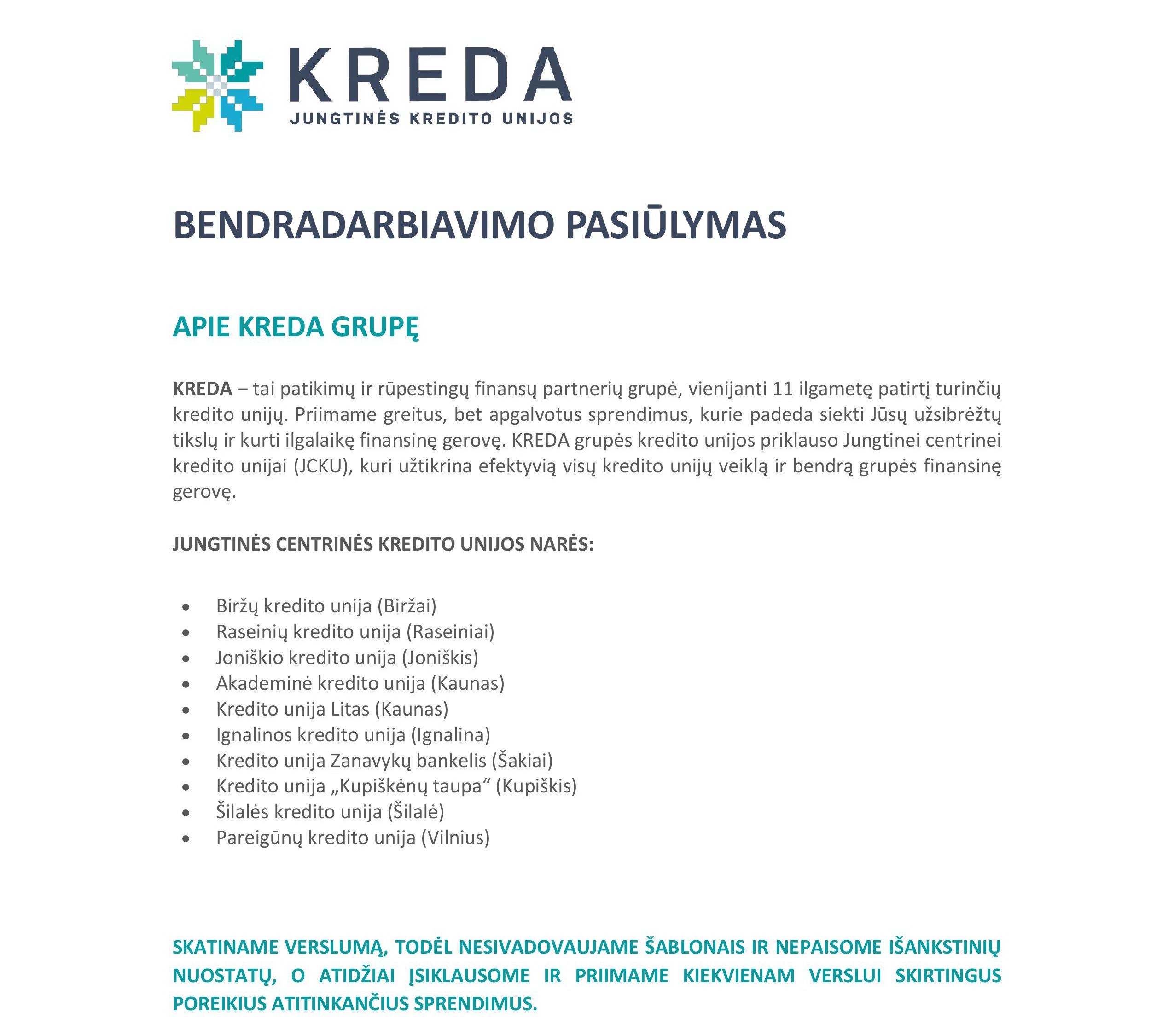 BENDRADARBIAVIMO PASIŪLYMAS01-00