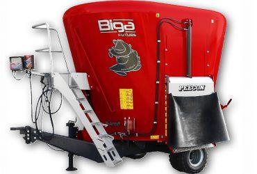 Pašarų maišytuvas Peecon Biga 10-200 Eco Future