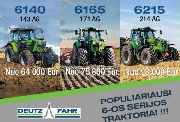 Populiariausi 6 – os serijos traktoriai !