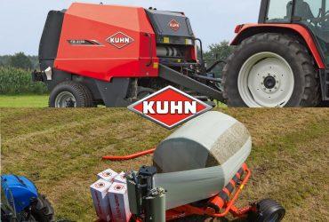 KUHN preso FB2130 ir vyniotuvo RW 1410 M komplektas – 40 000 Eur.